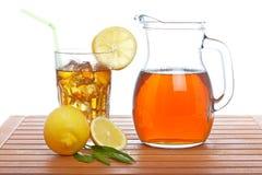 lodowy miotacza herbaty tumbler Zdjęcie Royalty Free