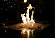 Lodowy ogień Obraz Royalty Free