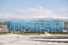 Lodowy pałac sport góra lodowa w Olimpijskim parku Sochi obrazy stock
