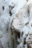 Lodowy pięcie w Ouray Kolorado obrazy stock