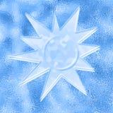 lodowy słońce Obrazy Royalty Free