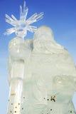 lodowy Santa Obrazy Stock