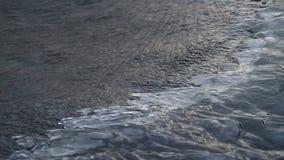 Lodowy stapianie na rzece w wiośnie zdjęcie wideo