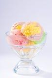 lodowy sundae kremy Zdjęcia Stock