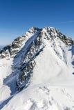 Lodowy szczyt Lodowy Szczyt, Ladovy (, stit) Zdjęcia Royalty Free