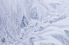 lodowy tła okno Obrazy Royalty Free