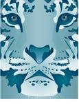 lodowy tygrys Royalty Ilustracja