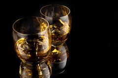 lodowy whisky Obrazy Royalty Free
