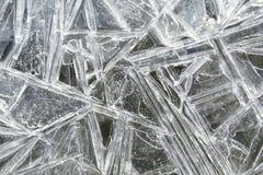 lodowy wzór Zdjęcie Stock