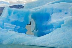 lodowych gór lodowych argentino lake niedaleko upsala Obrazy Royalty Free