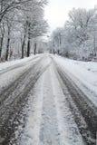 lodu prowadnikowy śnieg Zdjęcia Stock