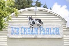 Lody bawialni znak przy Fort Worth zoo, Fort Worth, Teksas obrazy royalty free