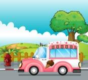 Lody ciężarówka royalty ilustracja