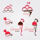 Lody logo Zdjęcia Royalty Free