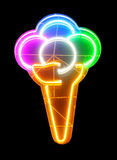lody neon Obraz Stock