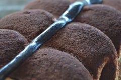 Lody z czekoladą fotografia royalty free