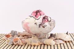 Lody z Seashells Fotografia Royalty Free