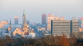 lodz Польша Стоковое фото RF