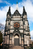 Lodz City, gothic Karl Scheiblers Chapel Stock Images