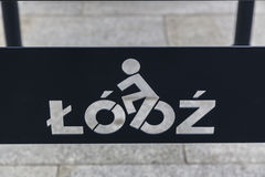 Lodz for cyclists Royalty Free Stock Photography
