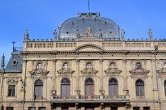 Lodz historisk slott Arkivfoto