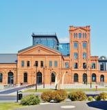 Lodz - oude fabriek Ludwik Grohman Royalty-vrije Stock Foto