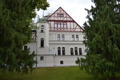 Lodz Palaces Stock Photo