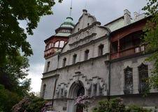 Lodz Palaces Stock Photography