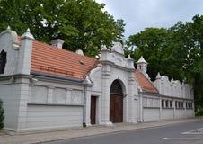 Lodz Palaces Royalty Free Stock Image