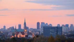 Lodz, Polônia Fotos de Stock