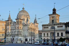 Lodz ,Poland- Liberty Square Royalty Free Stock Photos