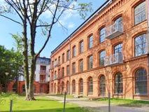 Lodz,Poland - Tobaco Park Stock Photography