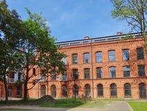 Lodz, Polonia - parque de Tobaco Foto de archivo libre de regalías