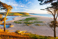 Loe Bar Cornwall England UK Royalty Free Stock Photography