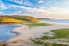 Loe Bar Cornwall England UK Royalty Free Stock Image