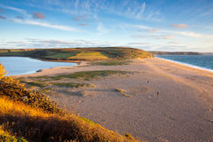 Loe Bar Cornwall England UK Stock Image
