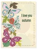 Loe i vous automne Image stock