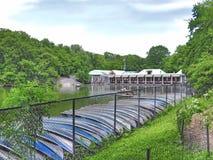 Loeb Boathouse Central Park stock image