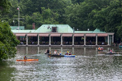 The Loeb Boathouse Central Park New York City Stock Photos