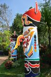 LOEI TAJLANDIA Phi Ta Khon festiwal Zdjęcia Royalty Free