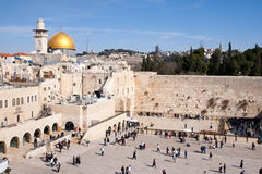 Loeiende Muur - Israël Royalty-vrije Stock Fotografie