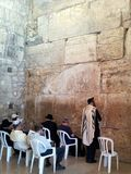 Loeiende muur, Jeruzalem Royalty-vrije Stock Foto