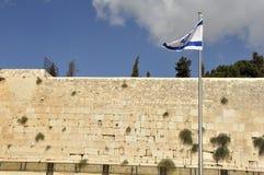 Loeiende muur, Jeruzalem Royalty-vrije Stock Afbeeldingen