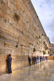 Loeiende Muur, Jeruzalem Israël Stock Fotografie