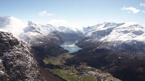 Loen mountain area. In Norway stock video footage