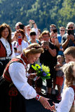 LOEN, NORWAY - MAY, 20 2017: Queen Sonja of Norway at the openin Stock Photo