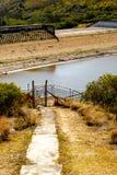 Loerie tamy rezerwata przyrody Niski poziom wody 2016-12-16 Zdjęcia Stock