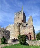 Loerrach - Burg Roetteln Image libre de droits