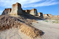 Loess erosielandform Stock Fotografie