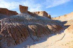 Loess erosion landform Royalty Free Stock Image